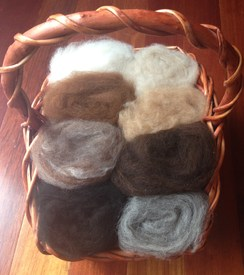 Natural Felting Batts