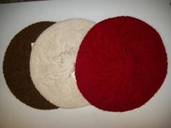Hand Knit Circle Hat