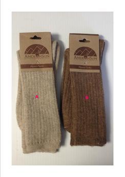 Andeansun Natural Alpaca Socks