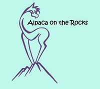 Alpaca on the Rocks - Logo