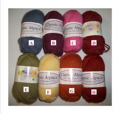 Classic Alpaca Yarn
