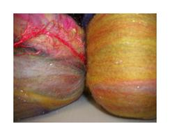 Bohemia Fibers Party Doll Roving