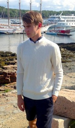 Alpaca Fisherman's Sweater (Unisex)