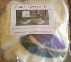 Felt a Soap Kit (fiber for 2)
