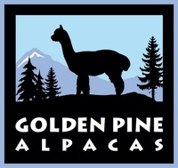 Farm Store: Golden Pine Alpacas - Logo
