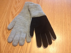Photo of GLOVES  --ALPACA DOUBLE LAYER DRIVING