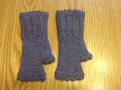 Photo of GLOVES  --BEADED FINGERLESS