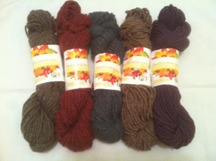 Photo of Yarn-NFP 3-ply Semi-Precious Bulky Yarn