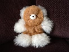Adorable Baby Alpaca Teddy Bear