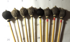 Alpaca Wrapped Marimba Mallets