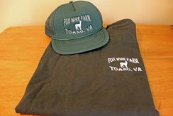 Fox Wire Farm Trucker Cap