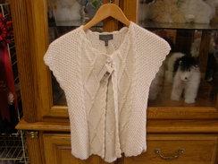 100% Baby Suri Alpaca Cable Sweater