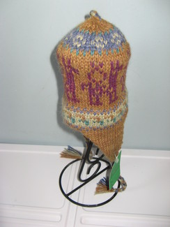 Child's Alpaca Chullo Hat