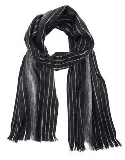 Photo of Alpaca Scarf - Brushed - Black Pearl