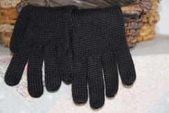 Gloves - Black and Alpaca, FANTASTIC!