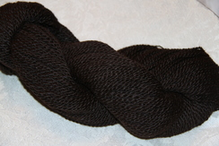 DK Yarn - Spun from Fine Fleece - Black