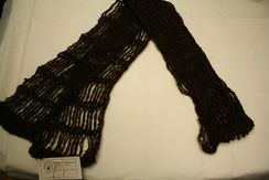 Brown Hand Knitted Scarf
