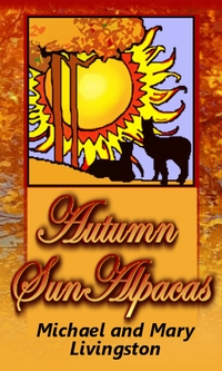 Autumn Sun Acres: Alpacas and Sheep - Logo