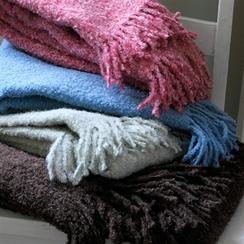 Alta Boucle' Handwoven Baby Blanket