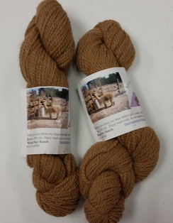 Photo of Blazing Star Ranch Yarn Loreal (fawn)