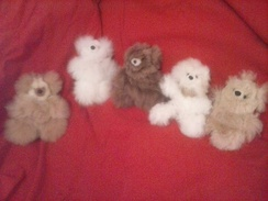 Small Alpaca Teddy Bears