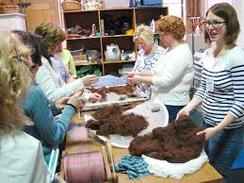 Processing Alpaca Fiber