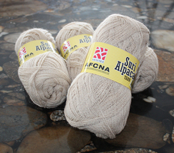 Suri Blend Alpaca Yarn - AFCNA