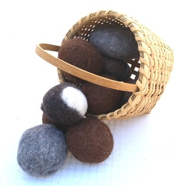 Alpaca Felted Dryer Ball Set