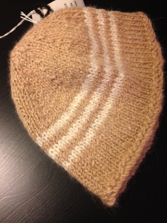 Photo of Handknit Baby Beanie 100% Natural Alpaca