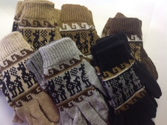 Photo of Knitted Alpaca Gloves