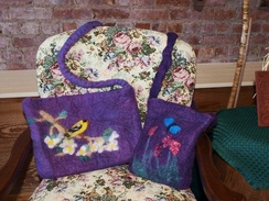 Photo of Felted Bag Class