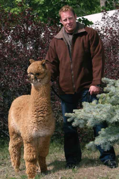 Photo of Unisex Alpaca Barn Jacket
