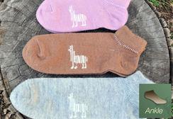 Alpaca Socks - Ankle (Small)