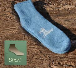 Alpaca Socks - Short