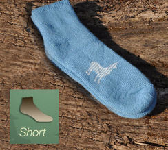 Alpaca Socks - Heavy Short