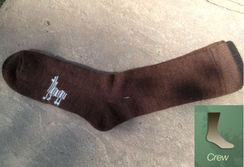 Photo of Alpaca Socks - Heavy Crew (Medium)