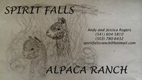 Spirit Falls Alpaca Ranch - Logo