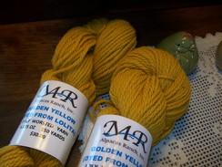 Alpaca Yarn Golden Yellow