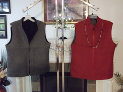 Alpaca Reversable vests unisex