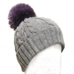Photo of Irish Knit Beanie with Pom Pom