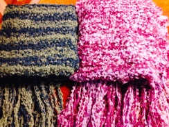 Boucle Scarves