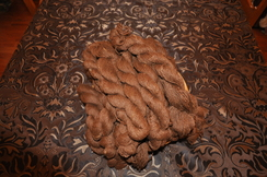 Photo of Brown Yarn (100% Suri)