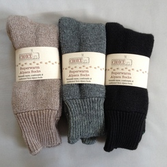 Superwarm Alpaca Socks