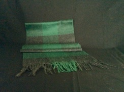 Photo of Vintage Plaid Scarf 402003