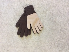 Photo of Alpaca Double Layer Driving Gloves 304006