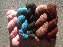 Photo of Dyed yarn