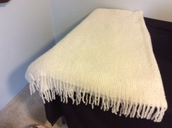 Photo of Boucle Lap Throw by Lanart 911004