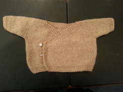 Photo of Hand-knit Newborn Baby Kimono