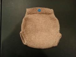 Photo of Hand-knit Newborn Baby Diaper Cover