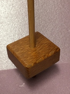 Lacewood support spindle